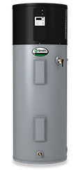 Electric hybrid water heater from A.O. Smith installation repair
