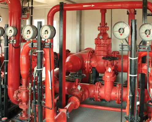 Fire Protection System Pump