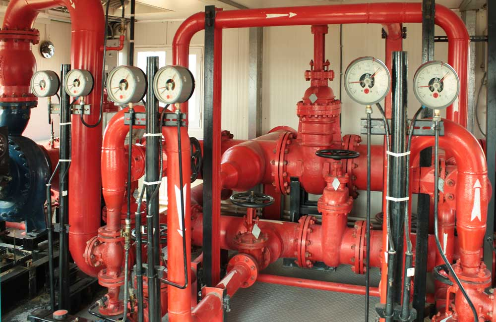 Fire protection coastal plumbing