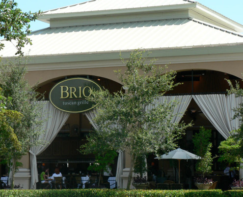 Restaurant plumbing at Brio tuscan Grille at Waterside Shops in Naples