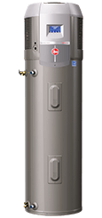 Electric hybrid water heater from Rheem installation repair