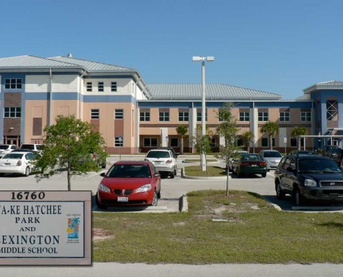 Plumbing and Acid Waste Piping at Lexington Middle School in Lee county