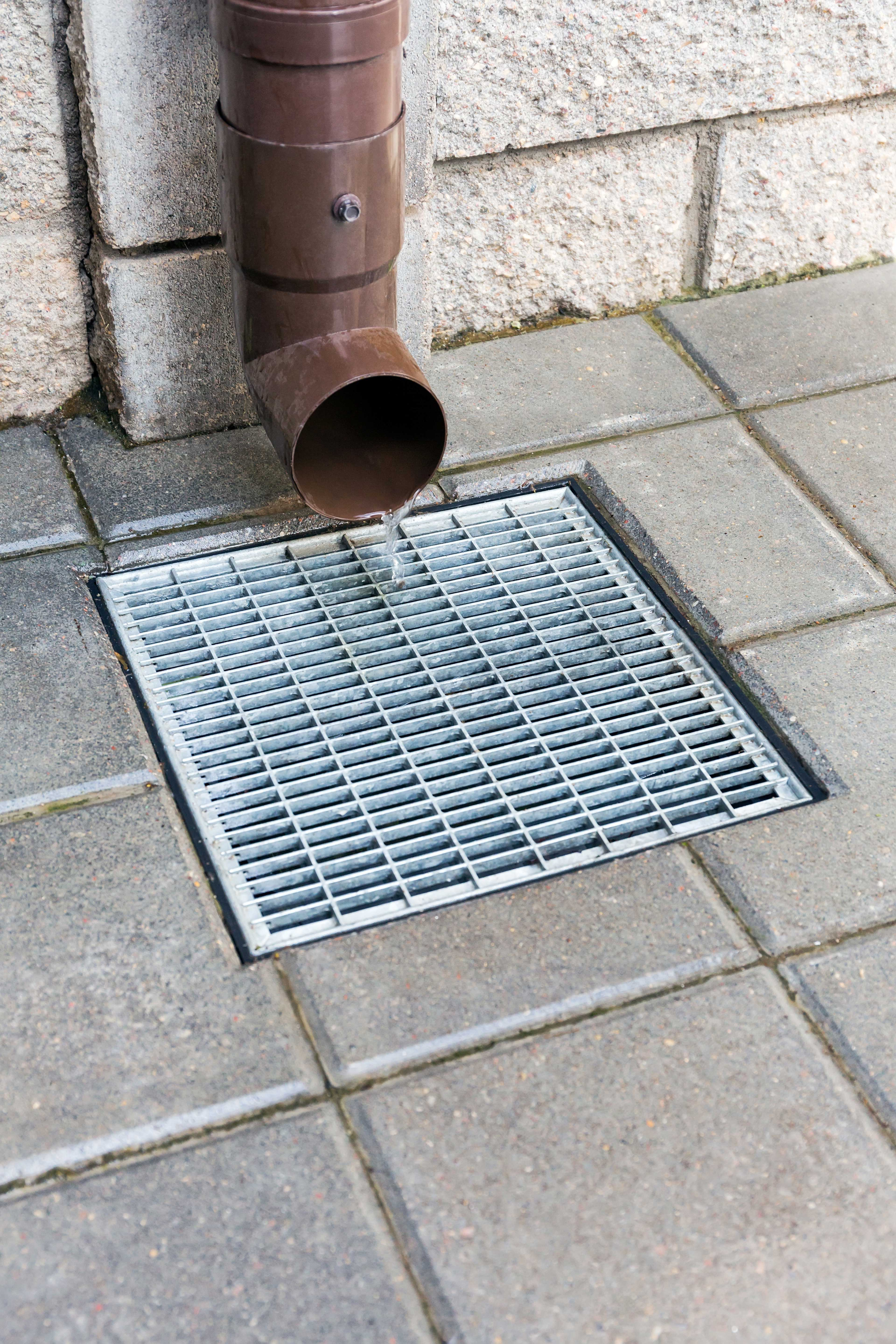 Area drain cleaning and storm drain cleaning naples fl for Downspout drain